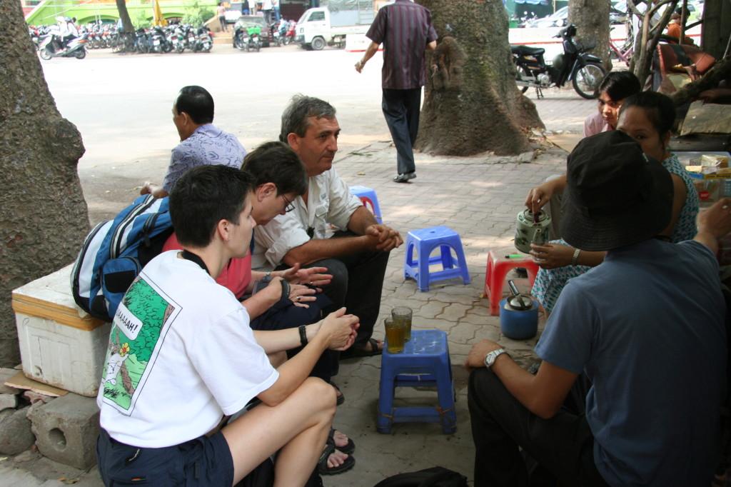 Thé dans la rue
