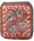 Coussin motifs celtiques