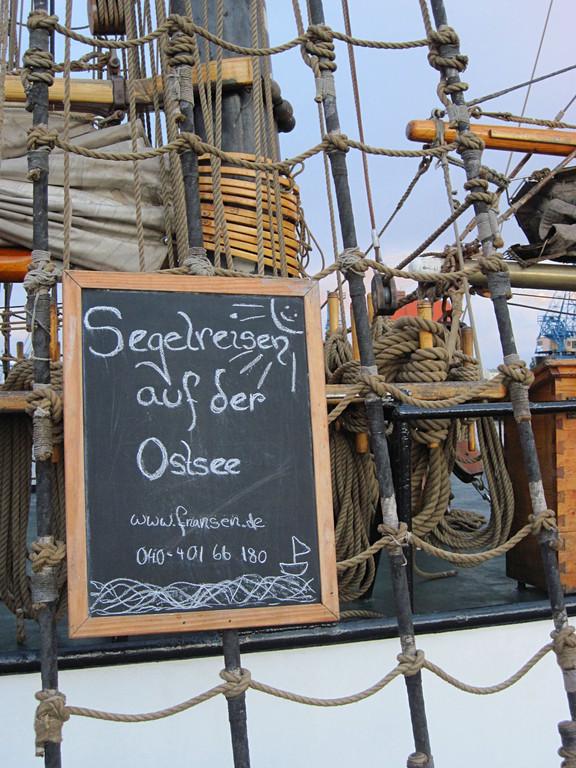 Segeln mit historischen Schiffen