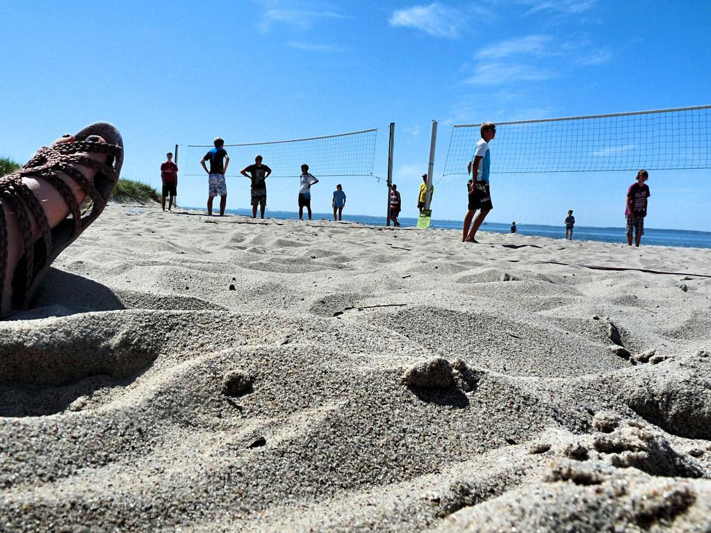 Beachvolleyball in Grömitz