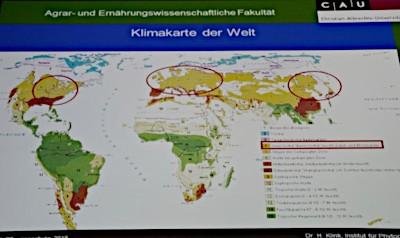 Klimakarte der Welt