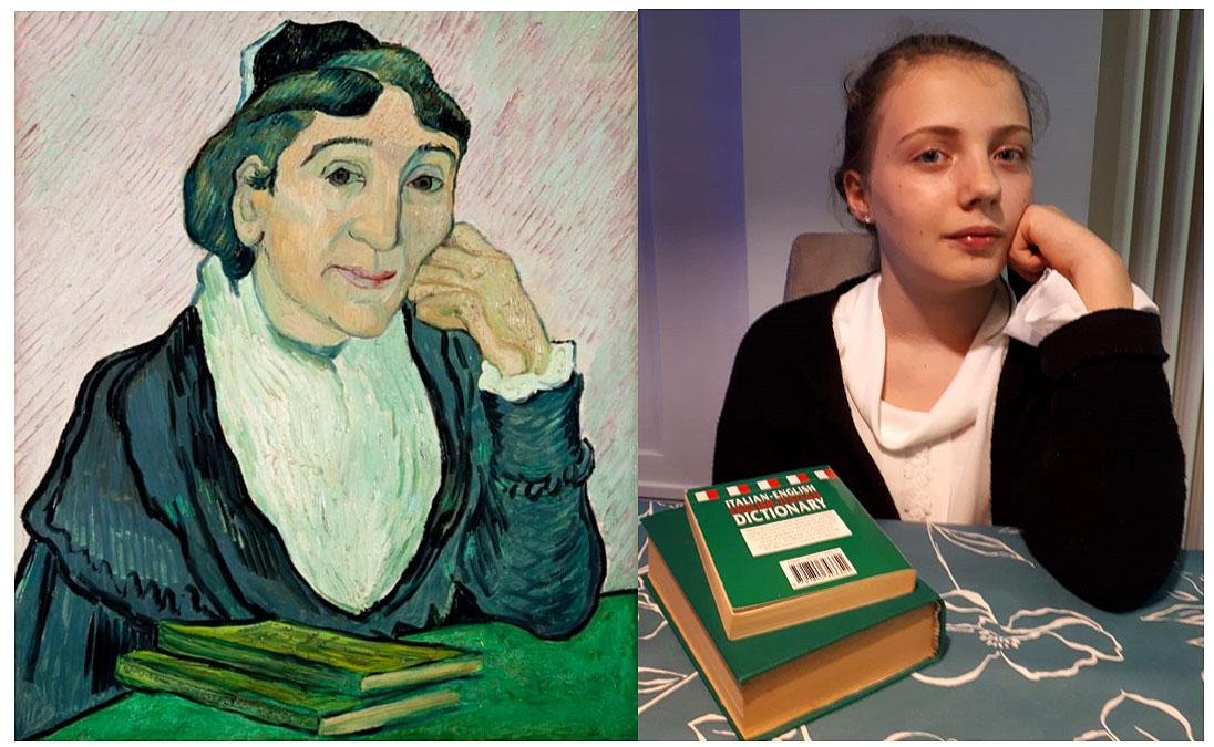 Emma Stampfer (1B) - Die Frau aus Arles (Vincent van Gogh)