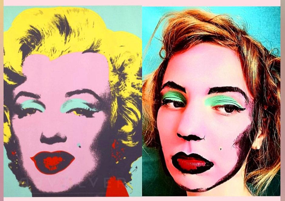Rebekka Adami 1C - Marilyn Monroe (Andy Warhol)