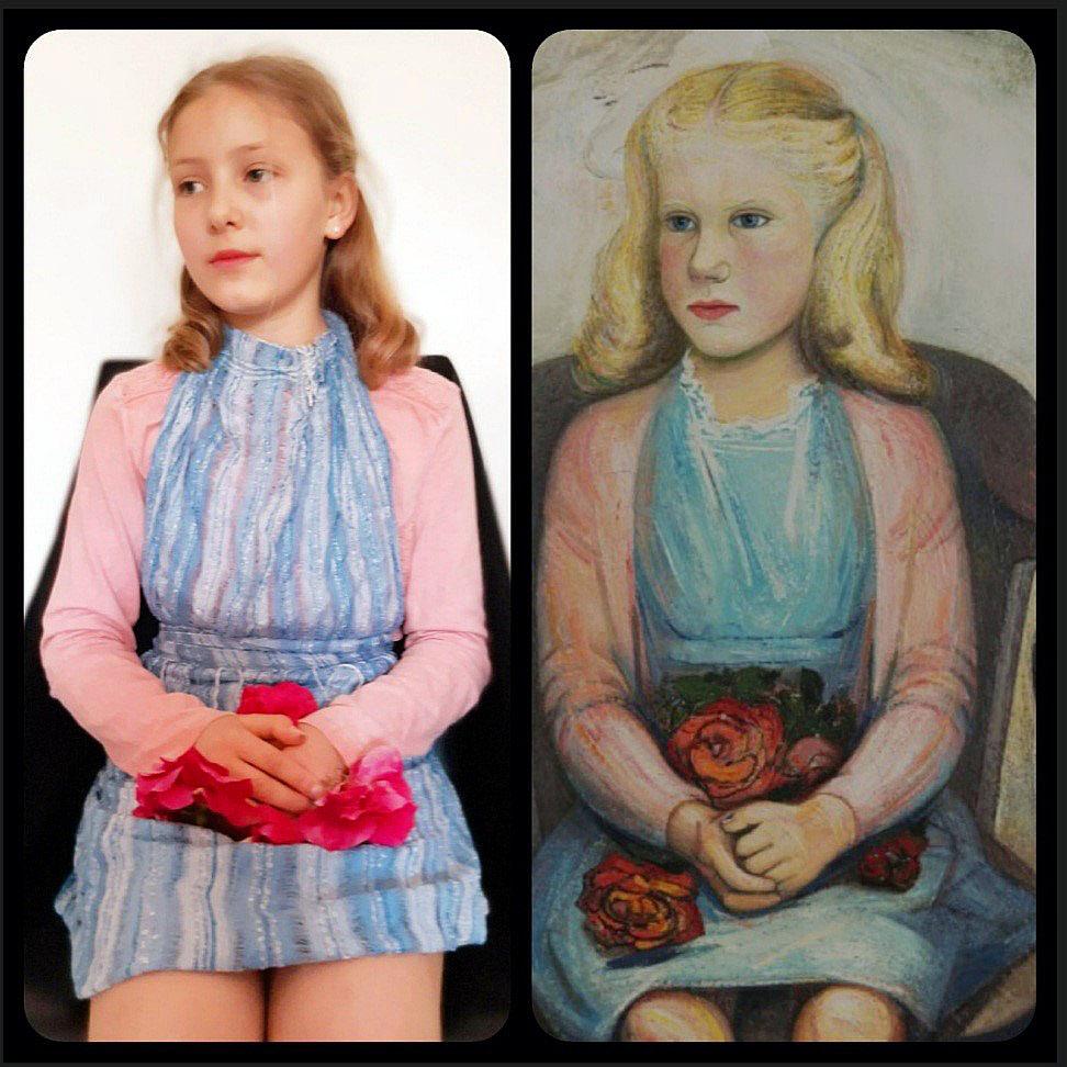 Thea Gamper (1B) - Nora Betetes Portrait (David Alfaro Siquieros)
