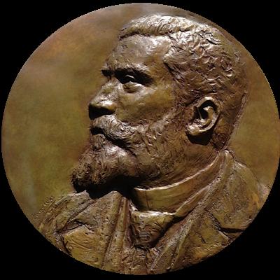 Buste, Sculpteur, Langloys, Bas Relief, Bronze, Jaurès