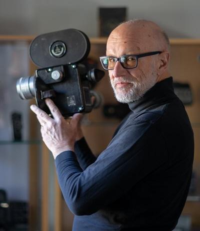 Rolf Leuenberger, conservateur et propriétaire Cine Museo