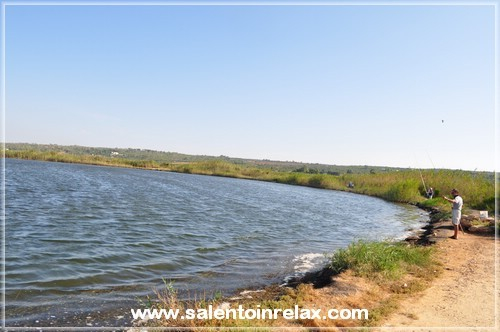 Salento - Lido Marini: il lago (pesca sportiva)