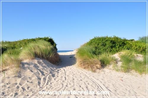 Salento - Lido Marini: le dune