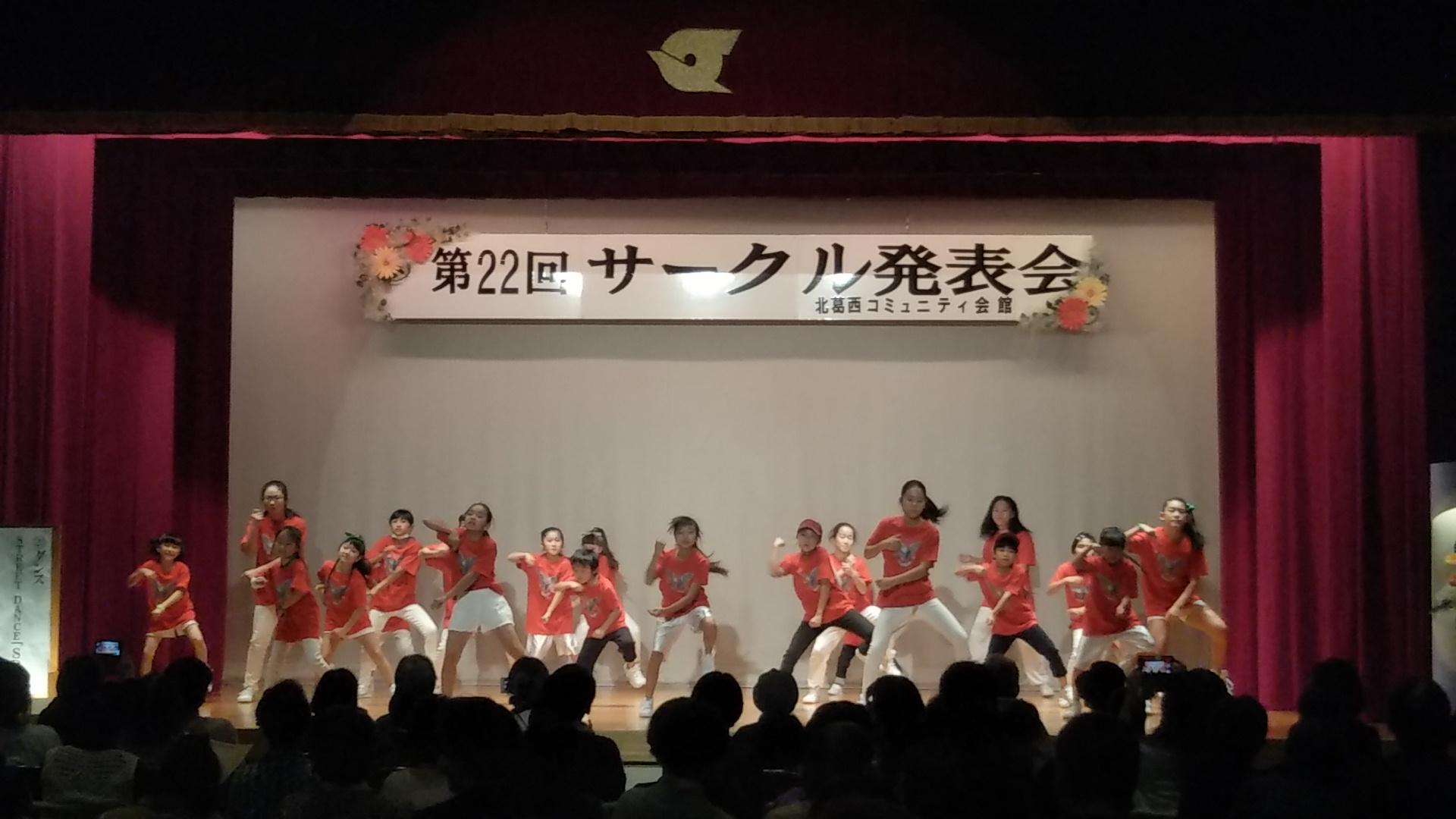 発表会オープニング&エピローグ☆広々思いっきり踊れていました