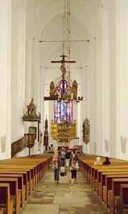 Mittelschiff der Marienkirche