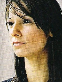 Christina  Stürmer aus Östereich mit ihrer Band
