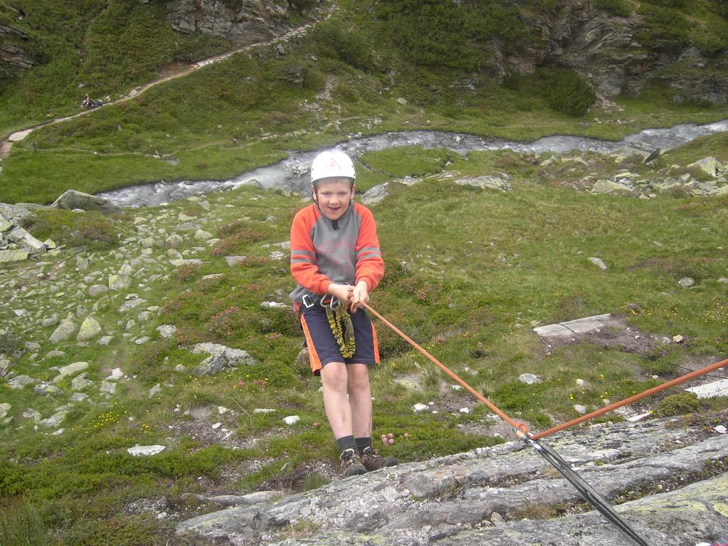 Klettern an der Franz-Senn-Hütte