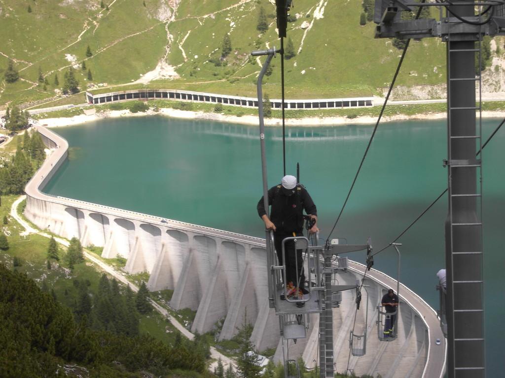Die Fahrt mit der Seilbahn ein Erlebniss für sich