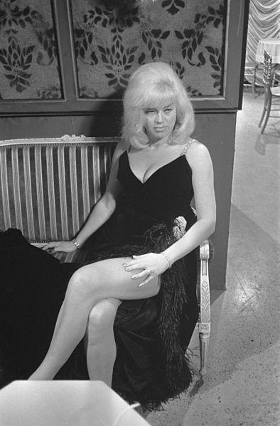Diana Dors (Wikimedia, Koch, Eric/ Anefo