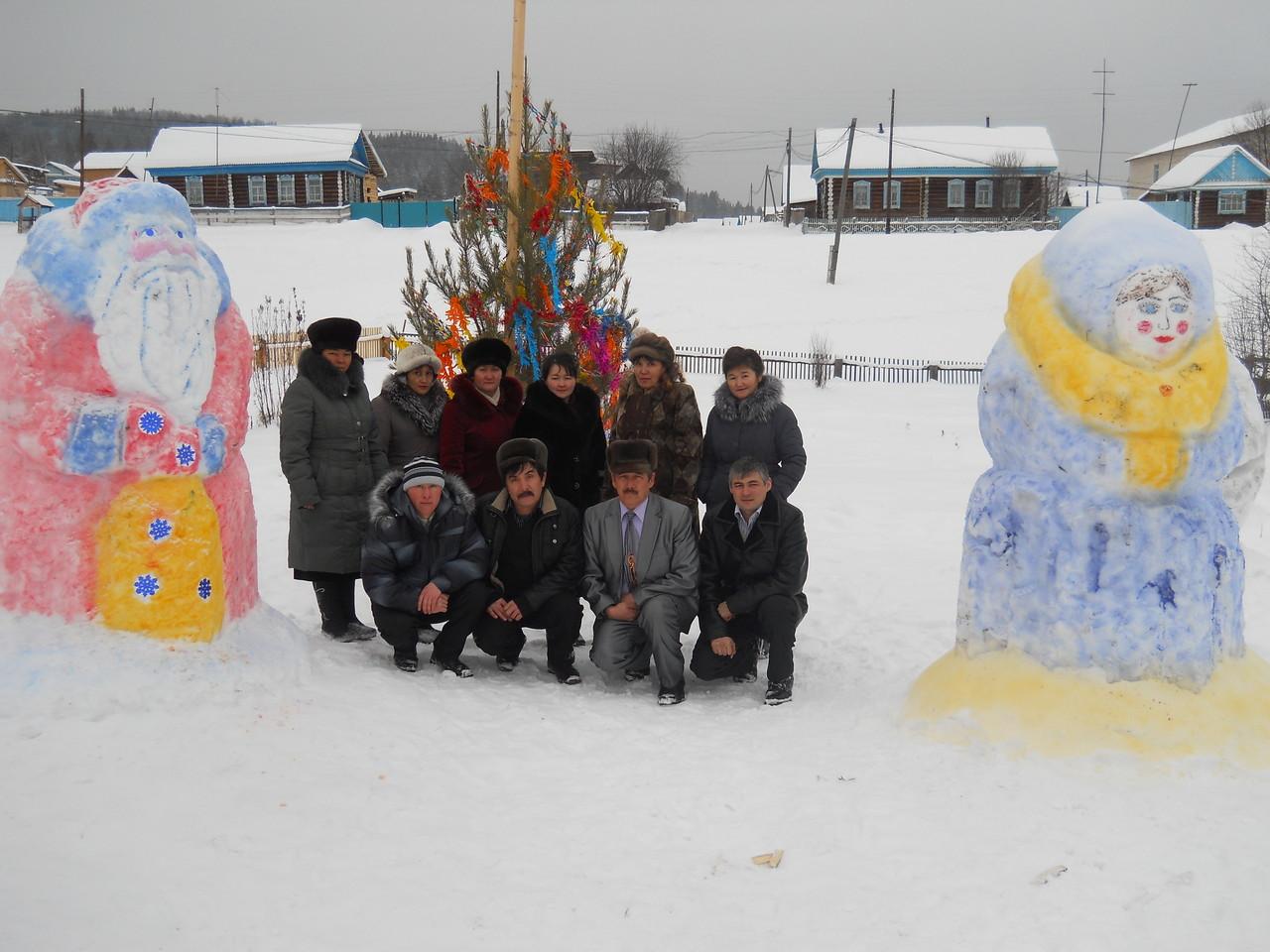 """Муниципальный конкурс """"Снежный городок"""" 2012-2013 год"""