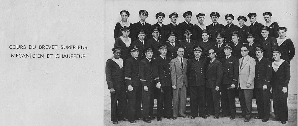 Cours du BS 1952
