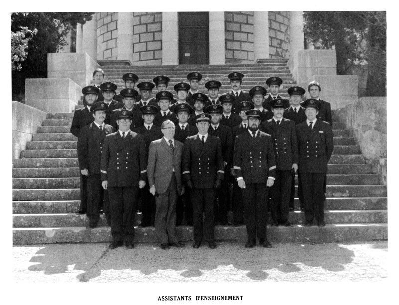 Assistant enseignement 1973