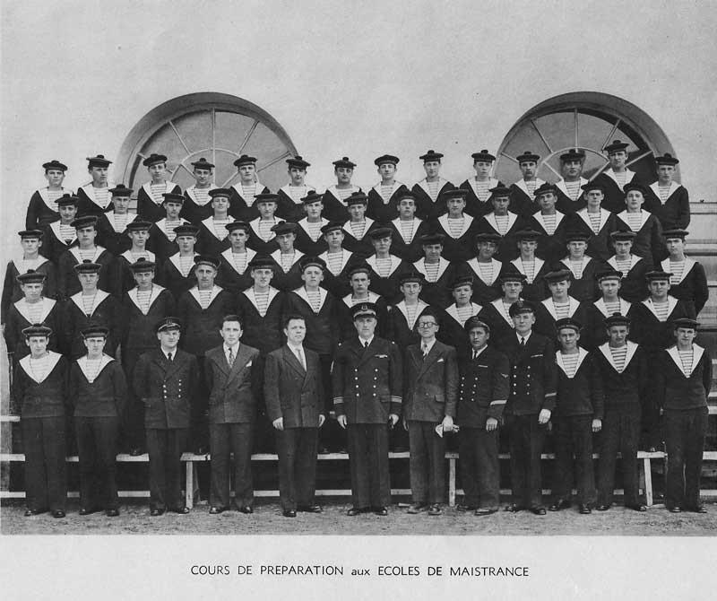 Cours Préparatoire à Maistrence 1952