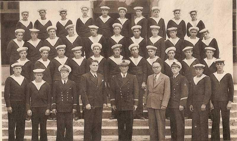 Cours préparatoire à Maistrance 1948