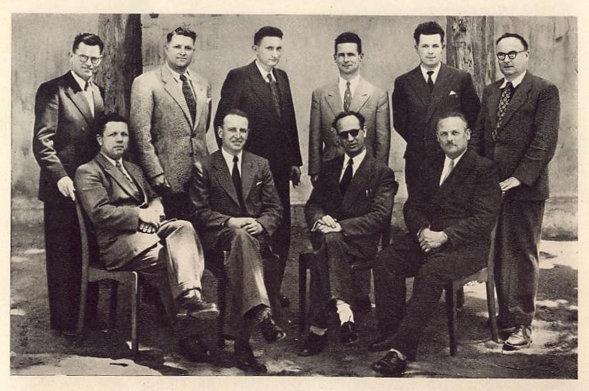 Professeurs 1950