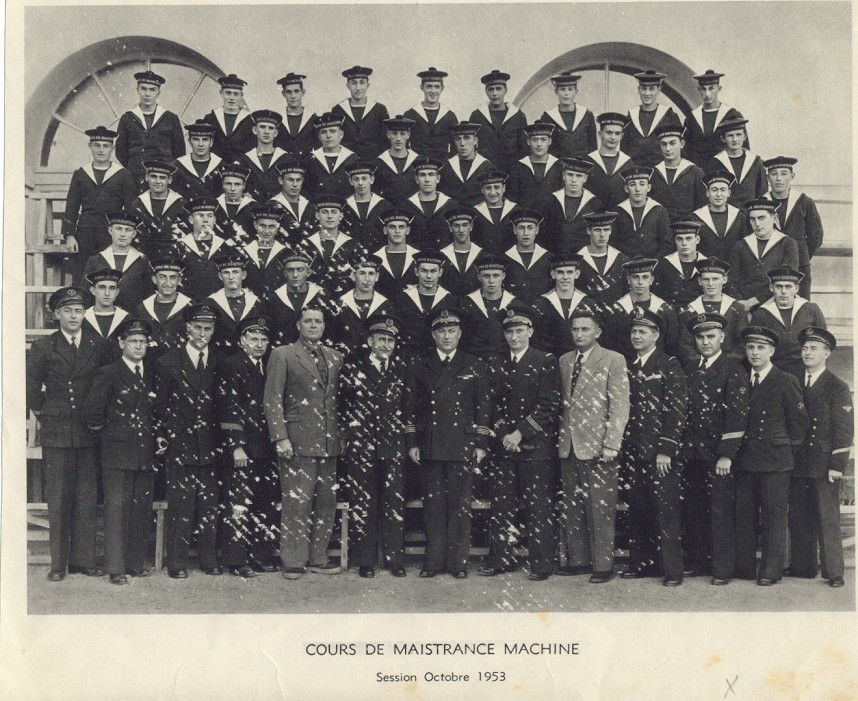 Maistrance Session octobre 1953 1954