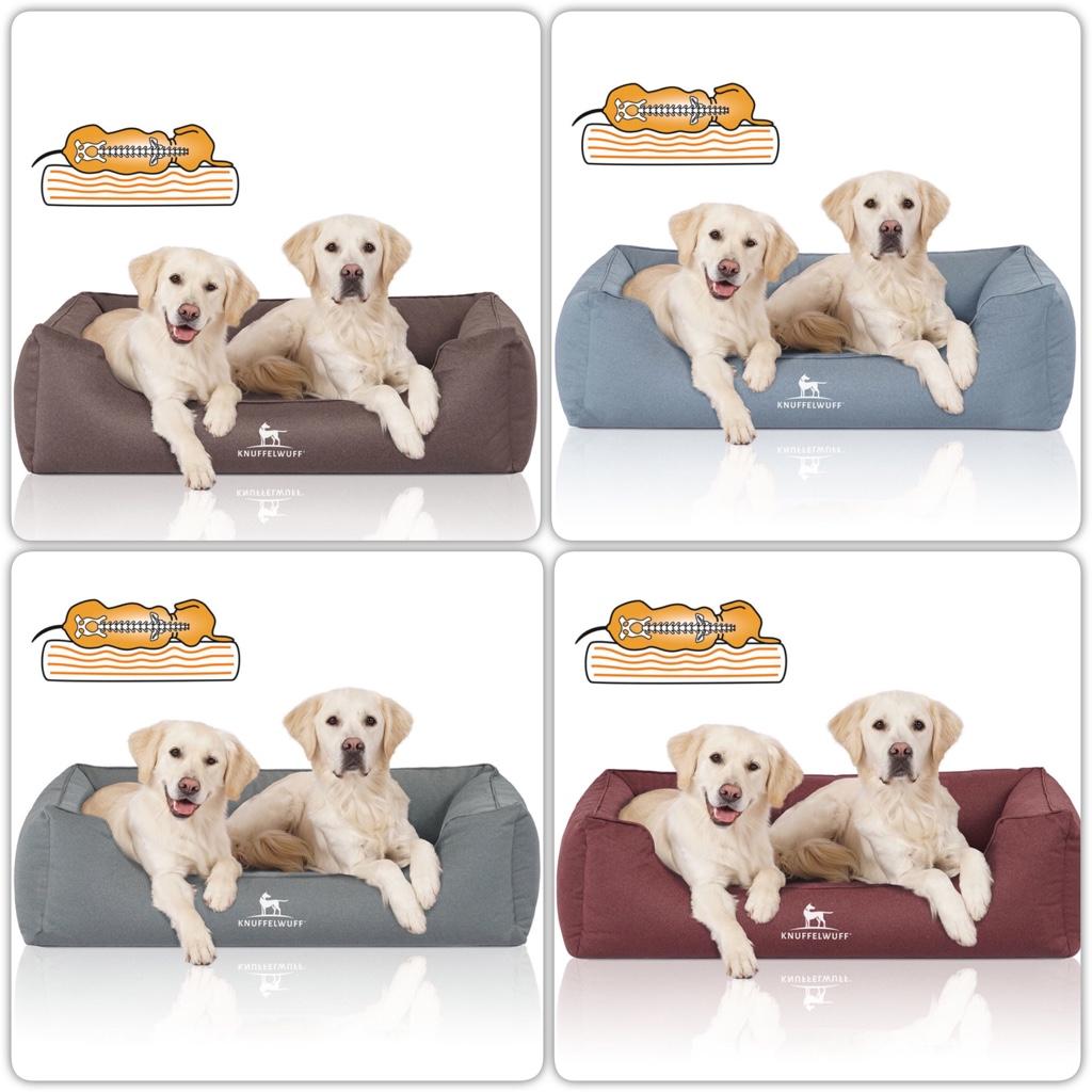 orthopädisches Hundebett Leon in verschiedenen Farben