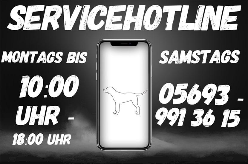 Servicehotlein Hundeshop Schnuffiknuffi.com