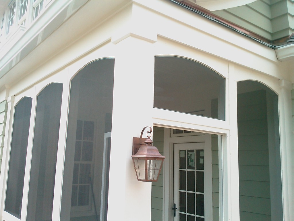 Porch Screening With Archs