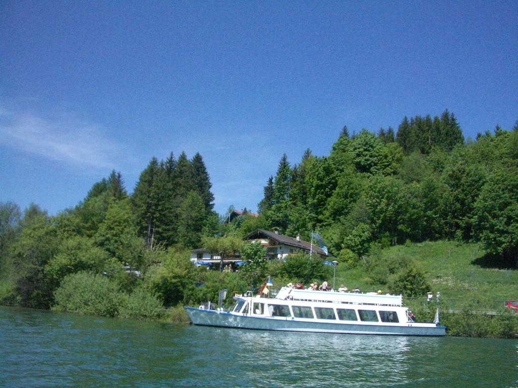 Das Haus Kögl am See ist auch übers Wasser erreichbar