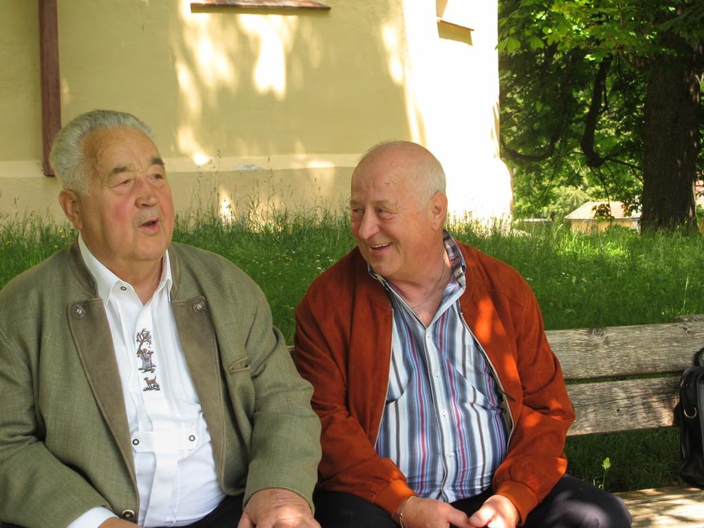 Der Adi und der Manfred, zwei alte Haudegen