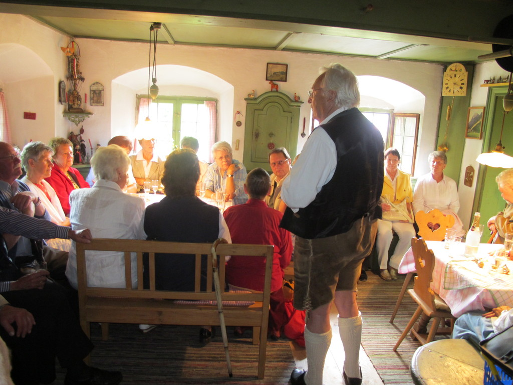 Karl Wiedemann erzählt übers Bauerntheater