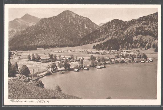 Blick vom Probstbichl auf Fischhausen