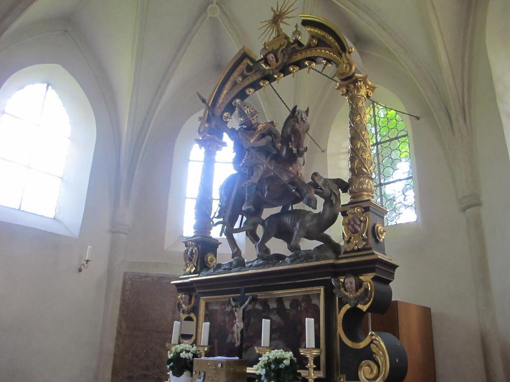 St. Georg mit dem Drachen