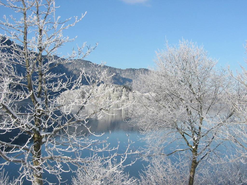 Wintertraum Insel