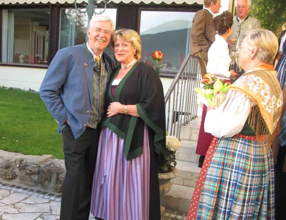 2. Bürgermeisterin Hanni Wunderle, eine liebe Freundin