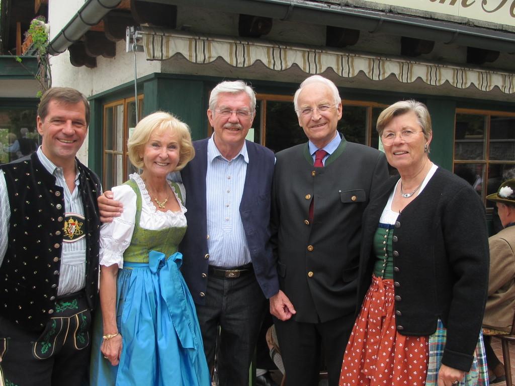... und dem Schlierseer Bürgermeister Franz Schnitzenbaumer