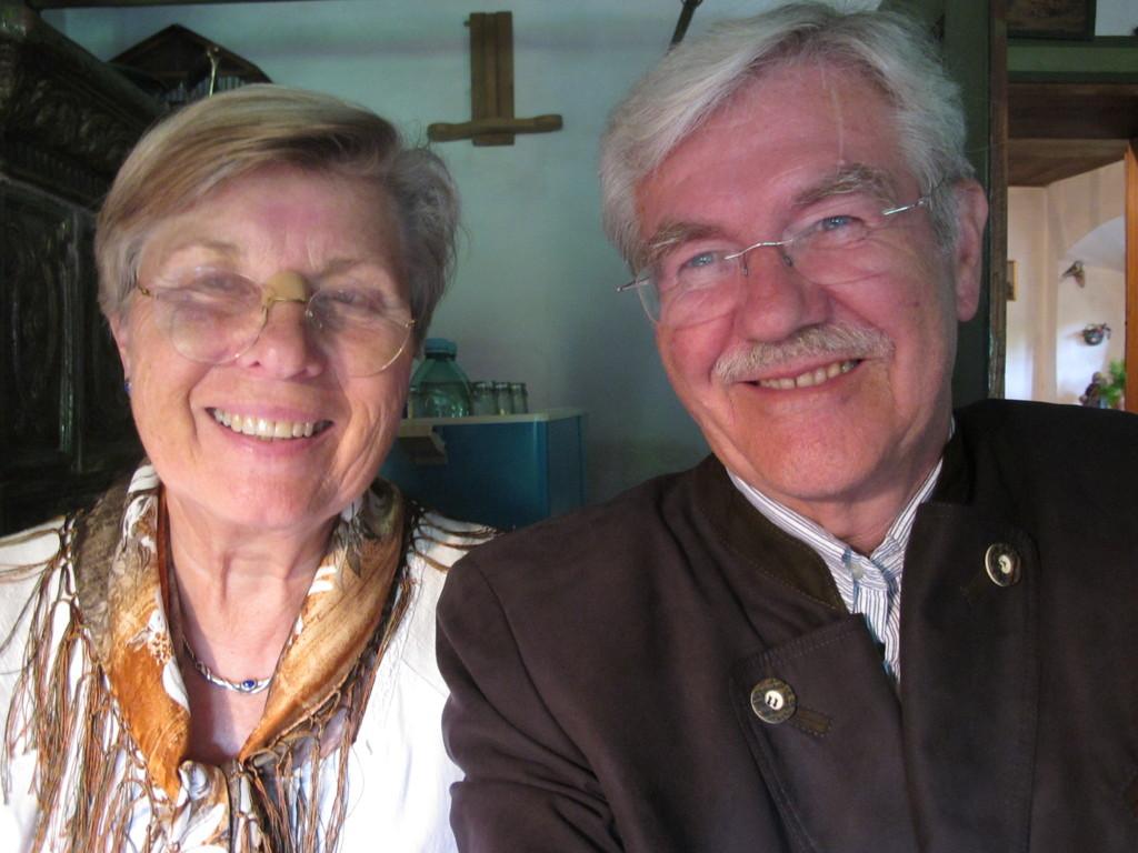 Der Fotograf mit seiner Frau