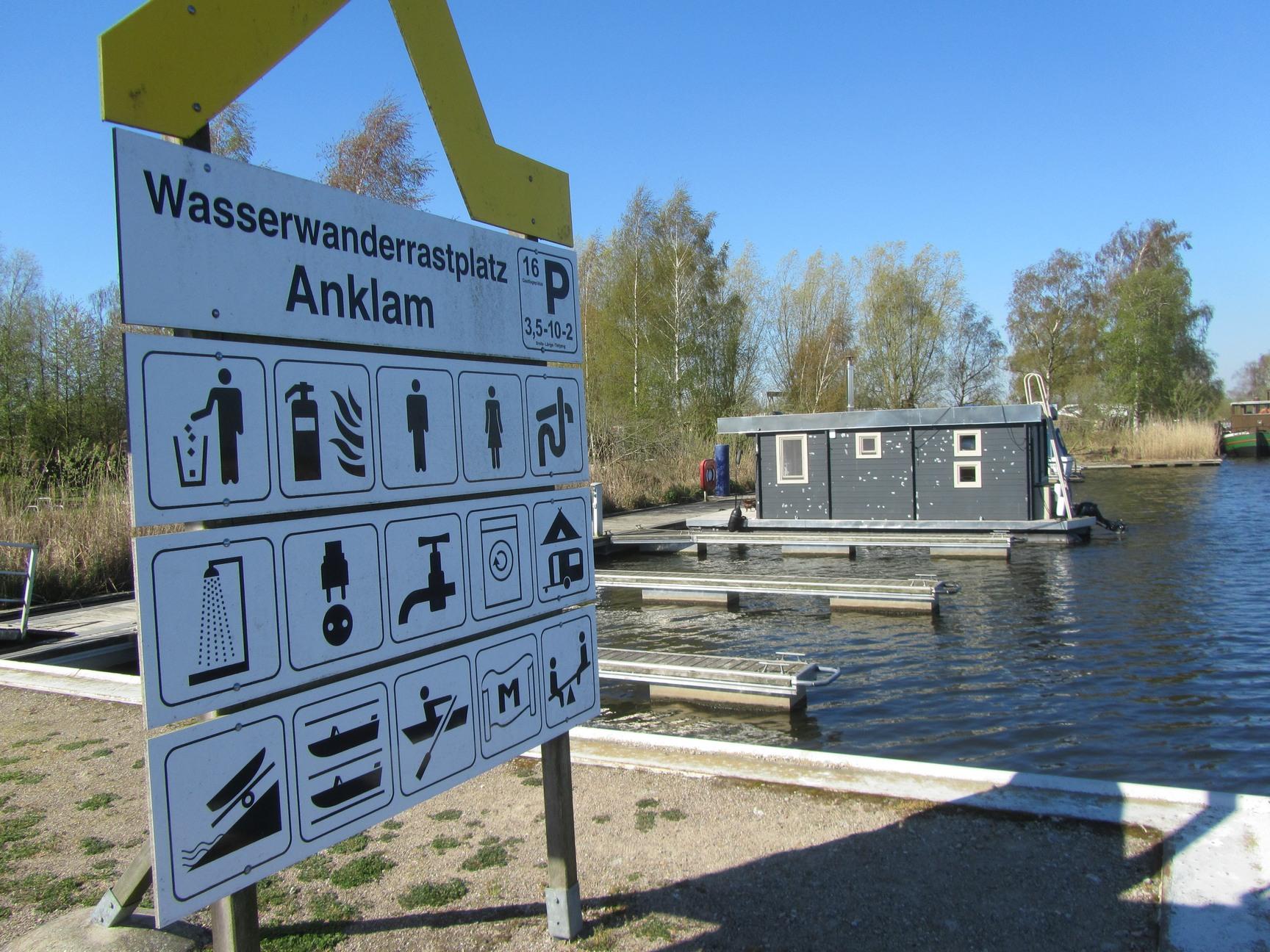 Wasserwanderrastplatz Anklam