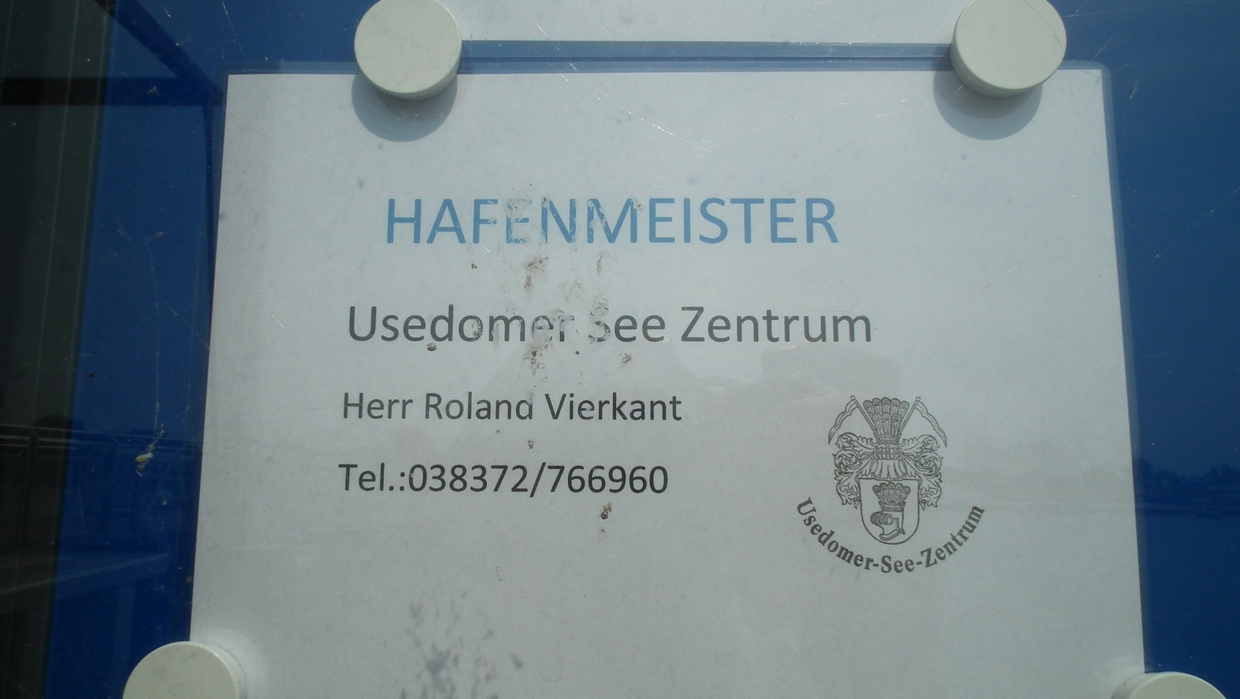 Hafenmeister Stadt Usedom