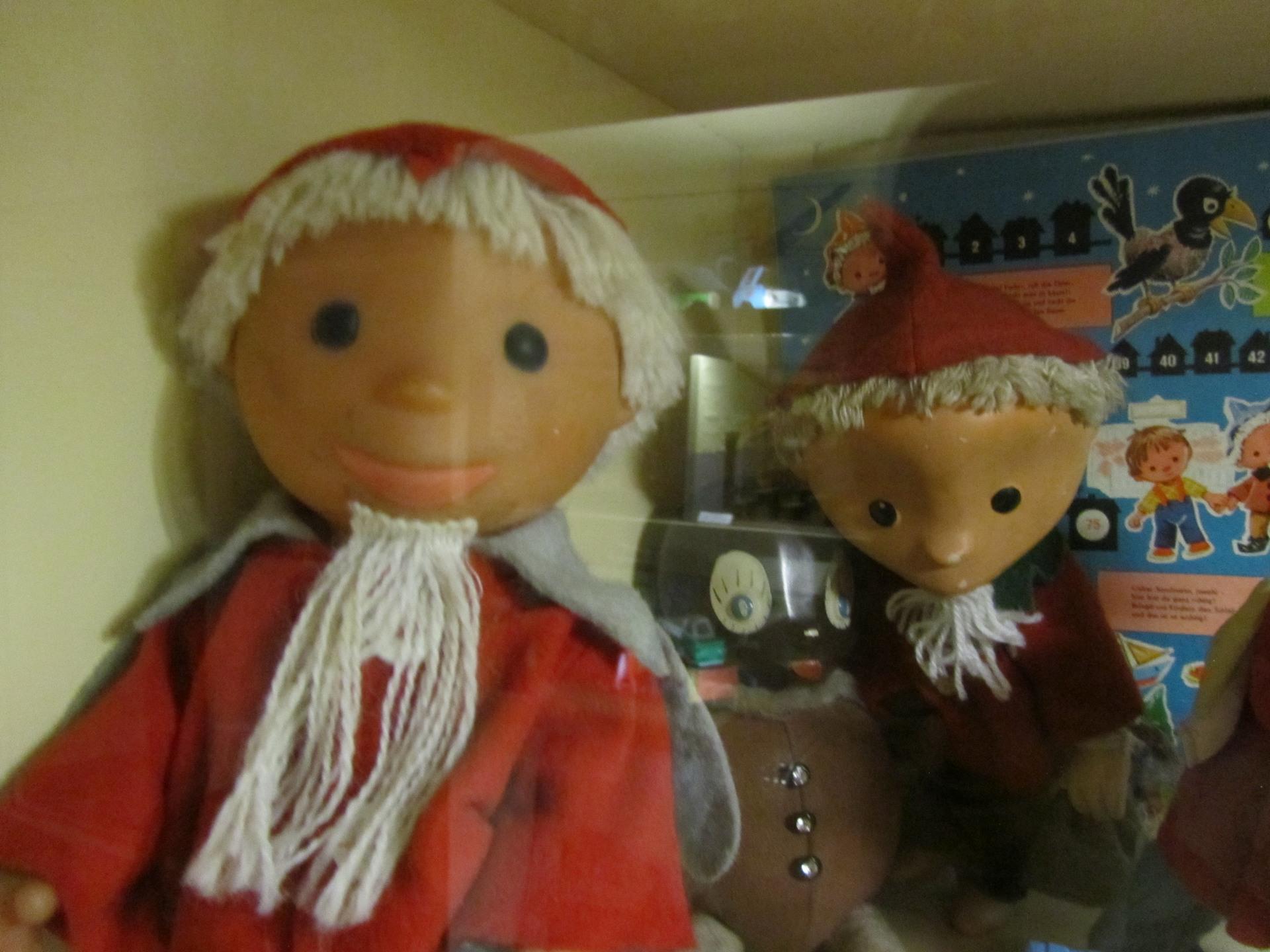 Das Sandmännchen im Spielzeugmuseum Peenemünde