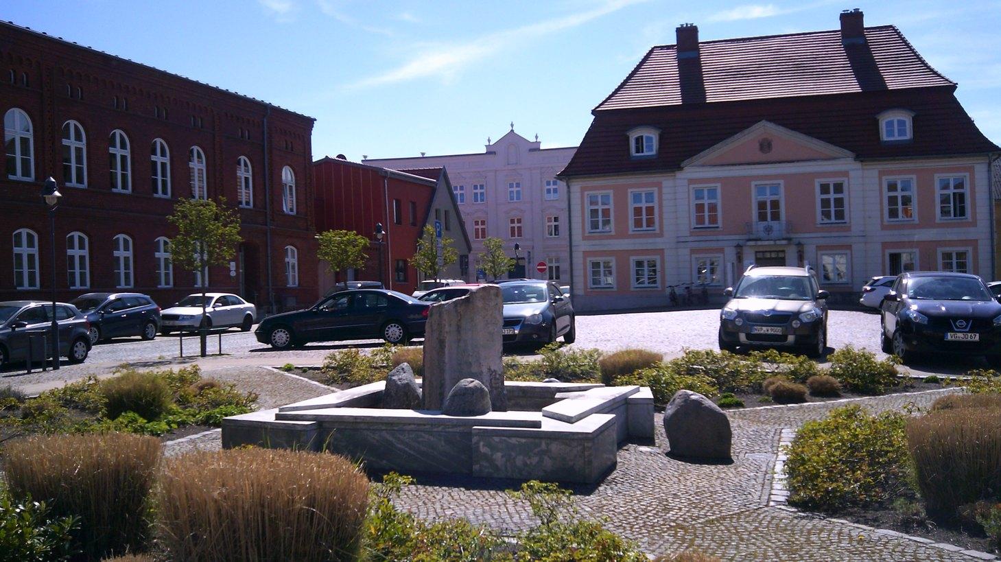 Marktplatz Peene