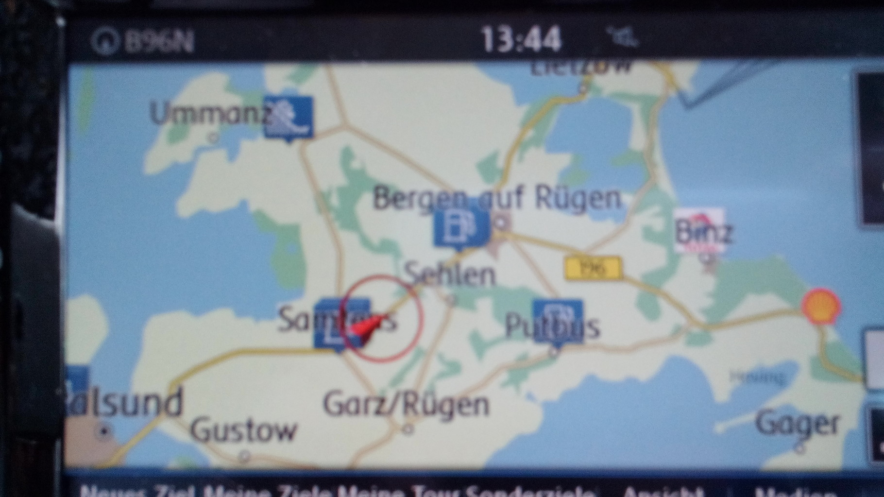und ab nach Rügen mit dem Auto über die Brücke