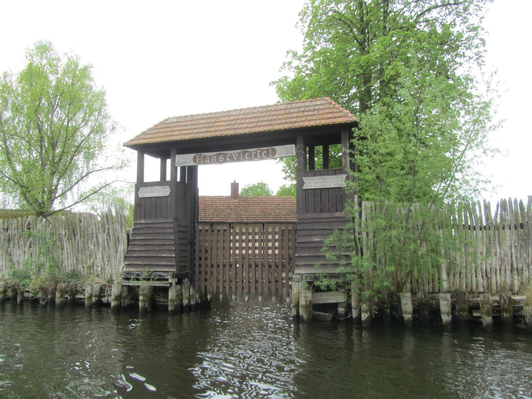 die Fischerinsel Hanseviertel Demmin