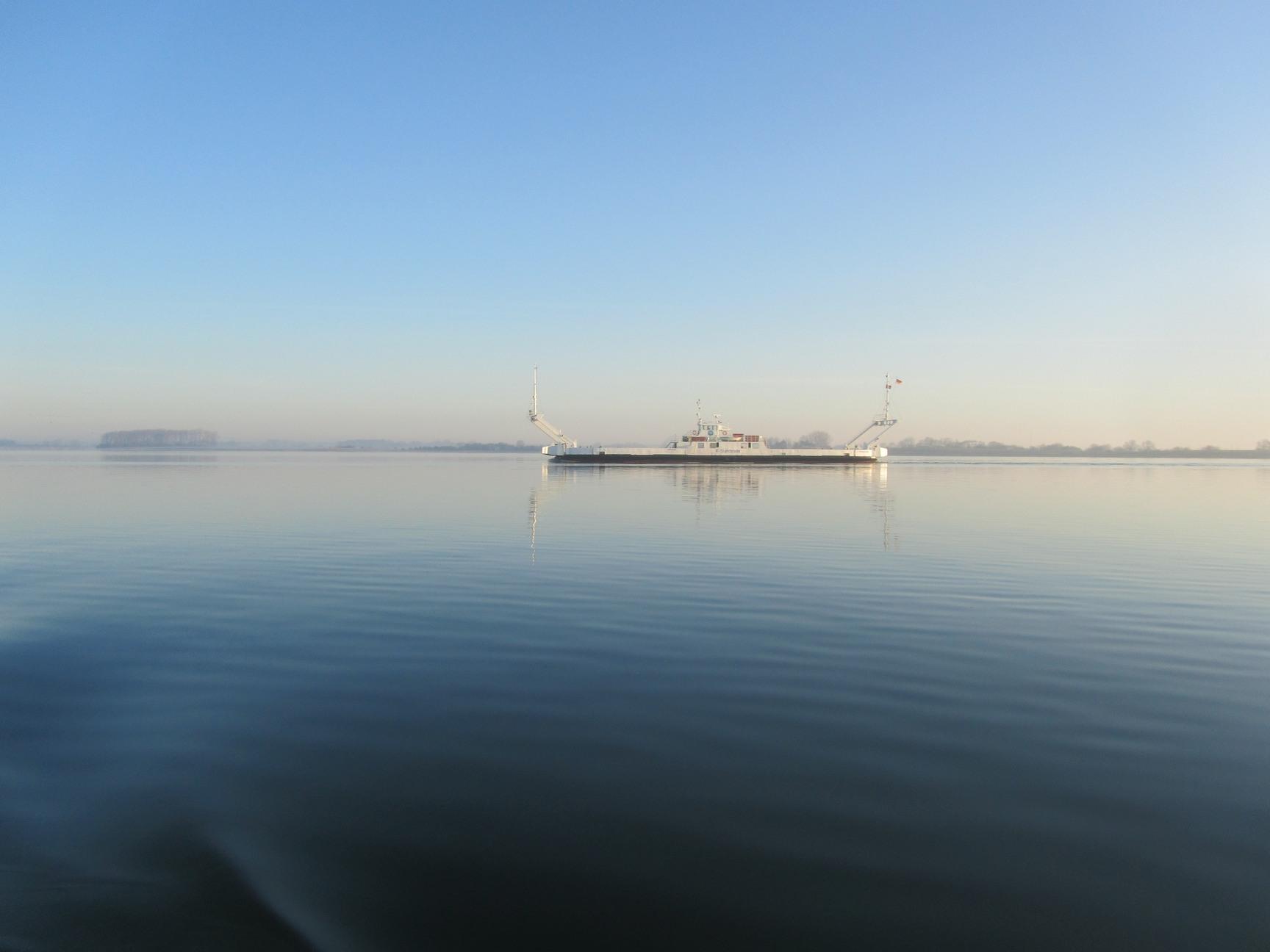 auf dem Strelasund