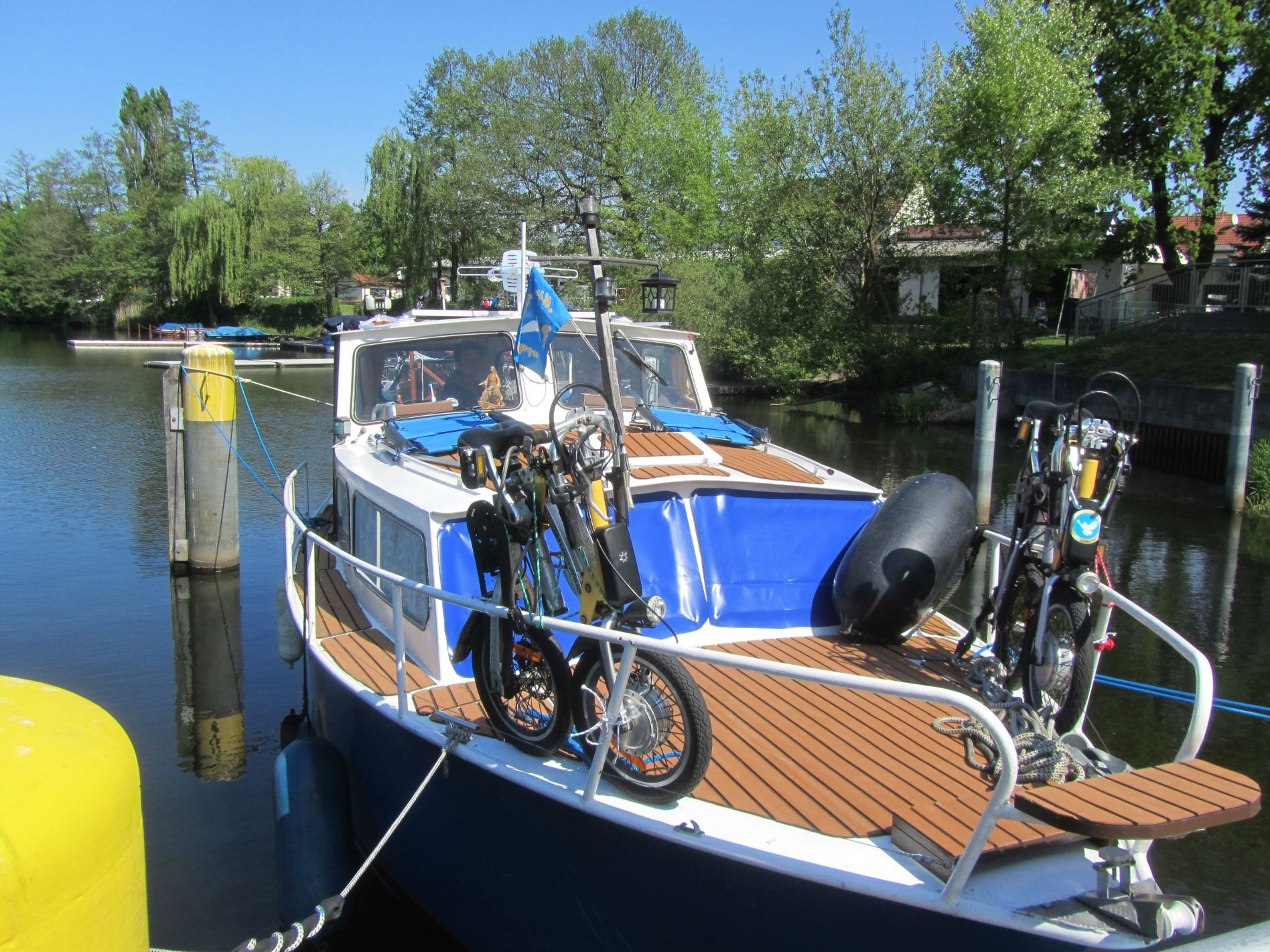 Sommerboot1  Unser neues Boot 2018