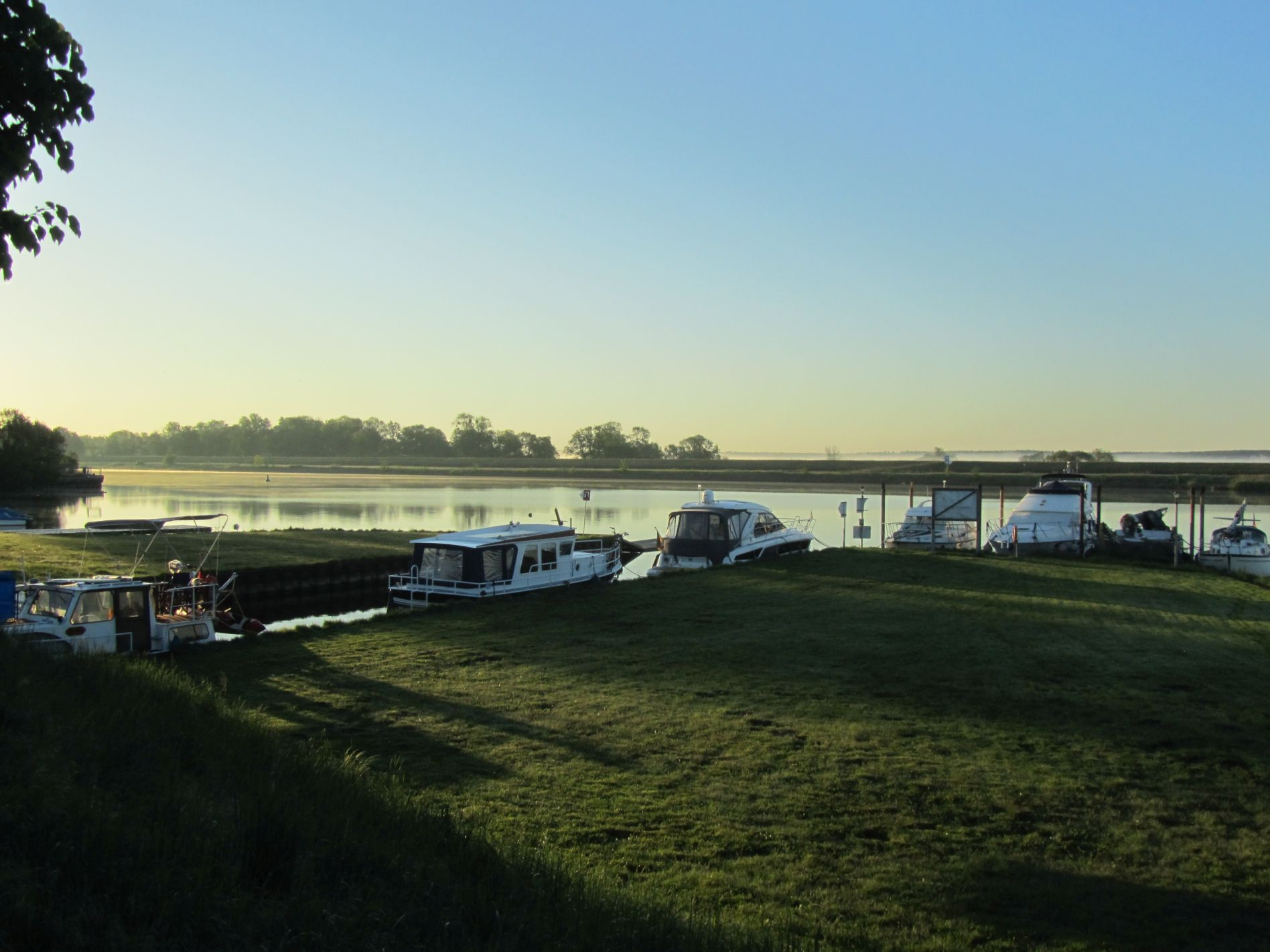Hafen Schwedt an der Oder