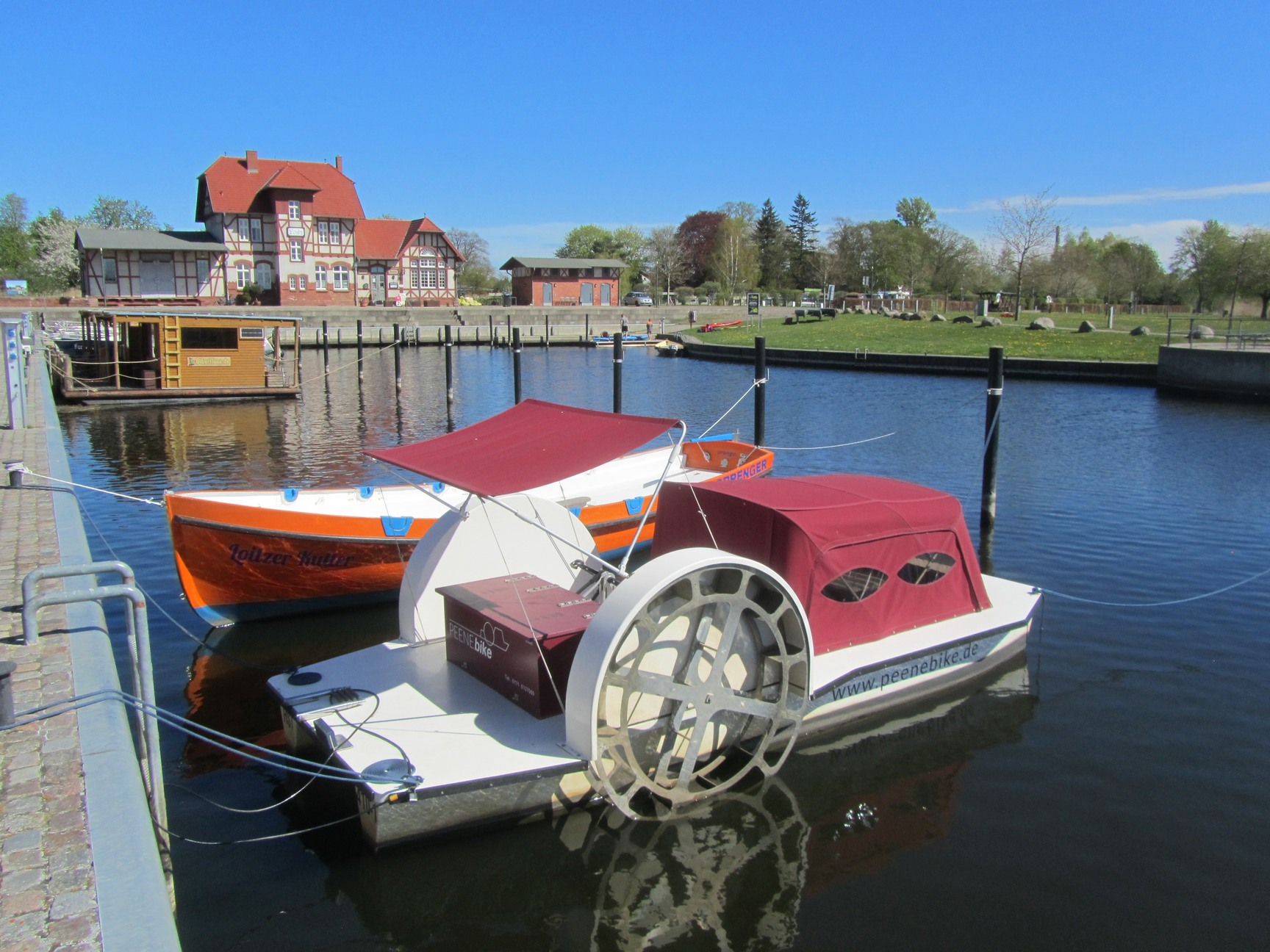 Tretboot Loitz