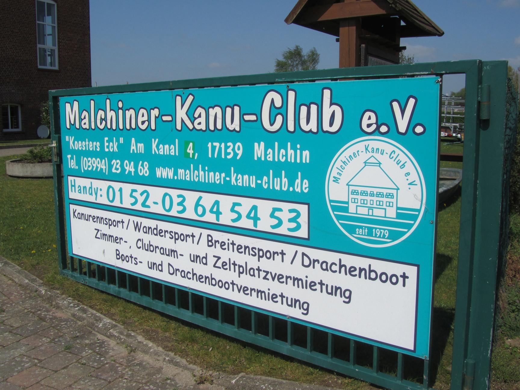 Kanu Club Köster´s Eck Malchin