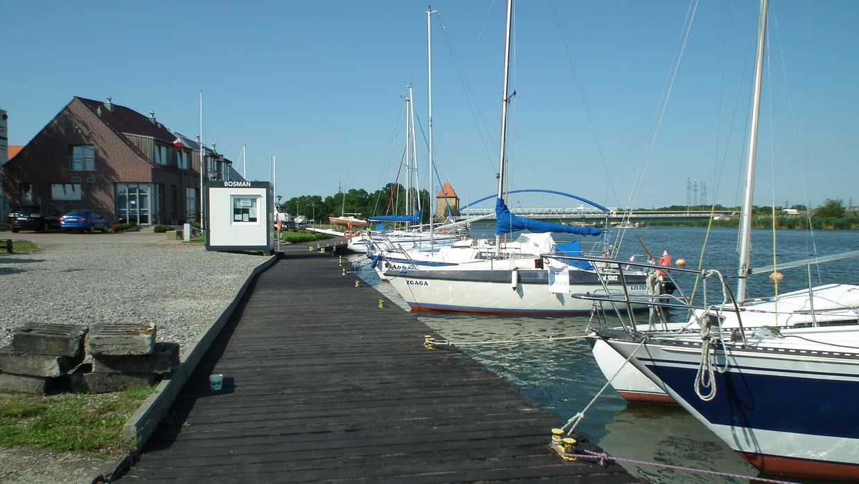 In der Marina Wolin