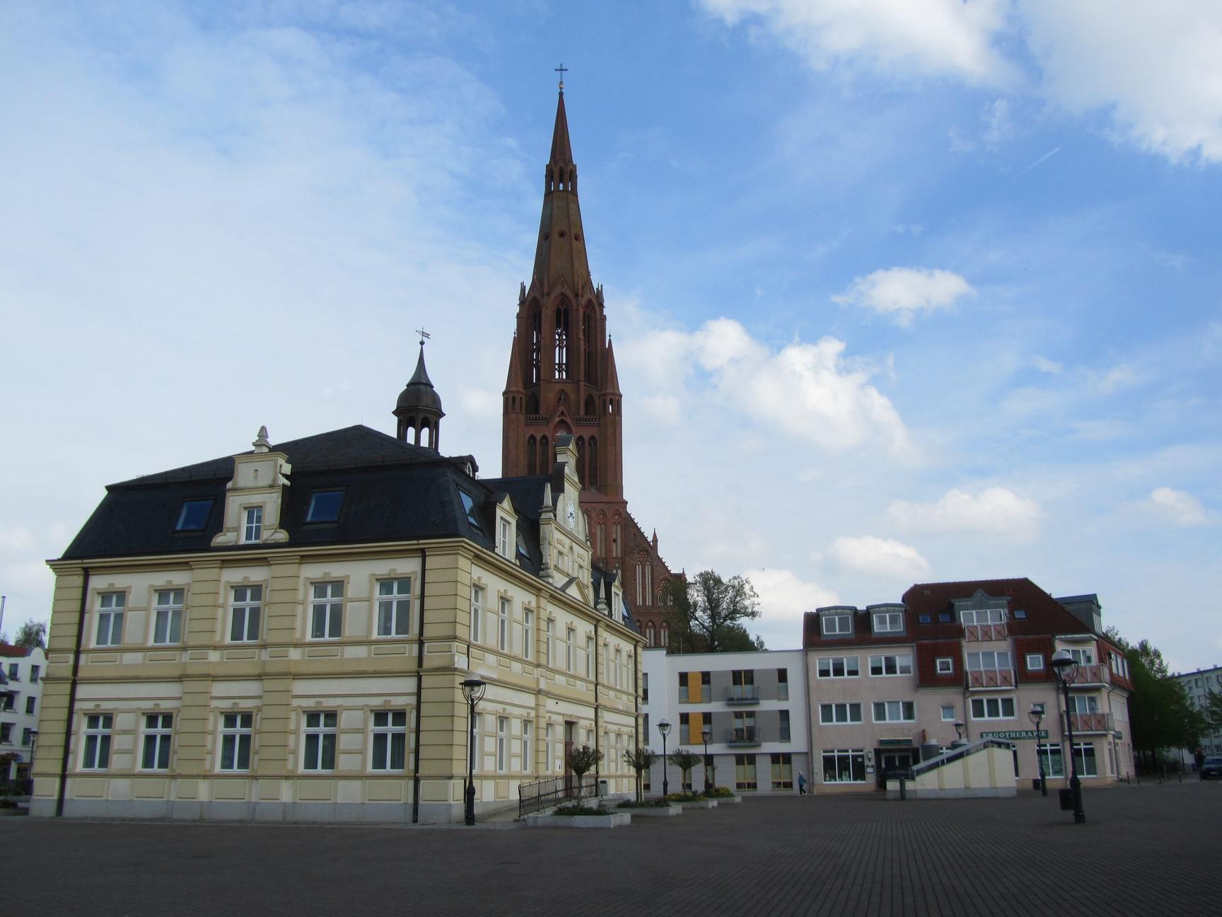 Marktplatz Hansestadt Demmin
